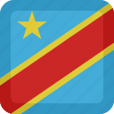 congo, country, flag, national, republic