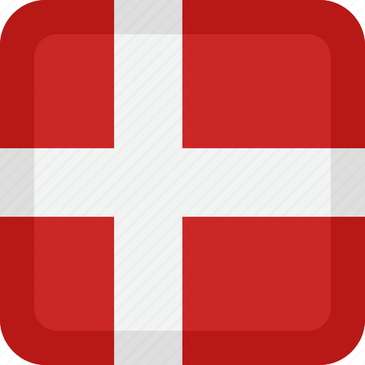 country, denmark, flag, national icon