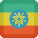 country, ethiopia, flag, national icon