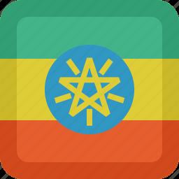 country, ethiopia, flag, national icon