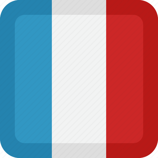 France, country, flag, national icon