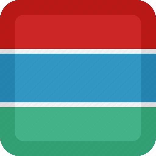 country, flag, gambia, national icon