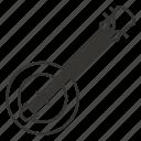 dombra, domra, equipment, guitar, instrument, musical, popular icon