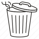 bin, delete, garbage tank, recycle, trash
