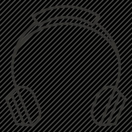 audio, headphone, headphones, headset, music, sound icon