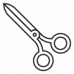 cut, cutting, scissor, scissors, tool icon