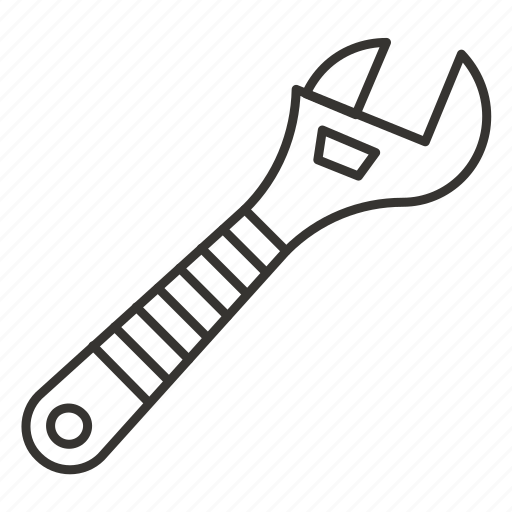 adjustable, repair, setting, tool, wrench icon
