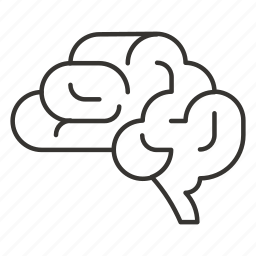 brain, head, idea, mind, think icon