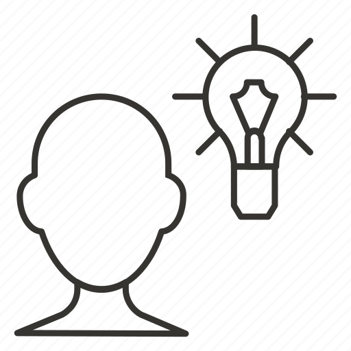 bulb, business, eureka, idea, lamp, light, think icon