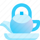 beverage, drink, healthy, hot, pot, tea, teapot icon