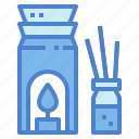 aromatherapy, burner, relax, scent icon
