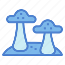 food, fungi, mushroom, nature icon