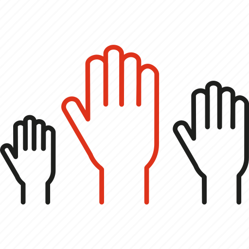 altruism, beneficence, charity, hand, humanitarian, participants icon