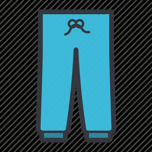 blue, pants, sleepwear, sport, sweatpants icon