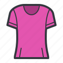 clothes, clothing, fashion, pink, shirt, tshirt icon