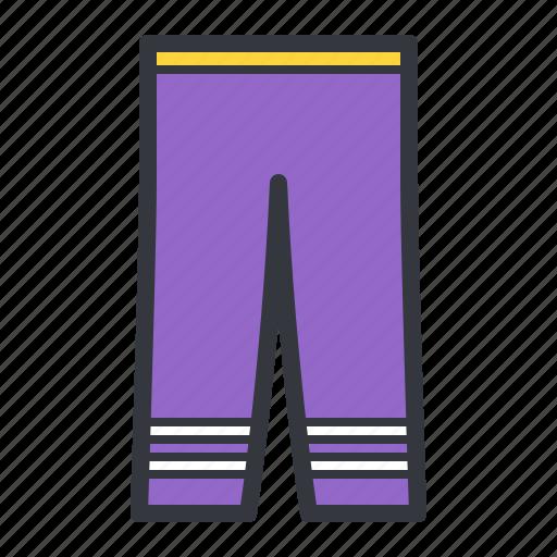 clothes, fashion, pants, purple icon