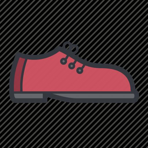 fashion, footwear, red, shoe icon