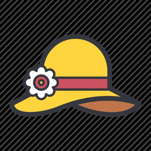 cap, hat, sun, sunny, weather icon