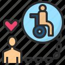burden, carer, caretaker, disable, handicapped