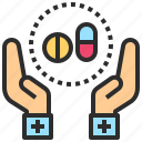 cure, drugs, medicine, pill, treatment icon