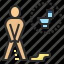 enuretic, incontinent, toilet, urine, pee, urinate