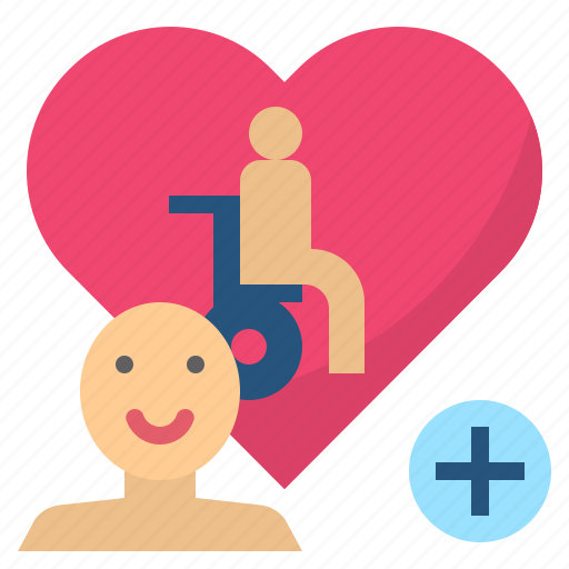 Caregiver, carer, caretaker, disable, handicapped icon - Download on Iconfinder
