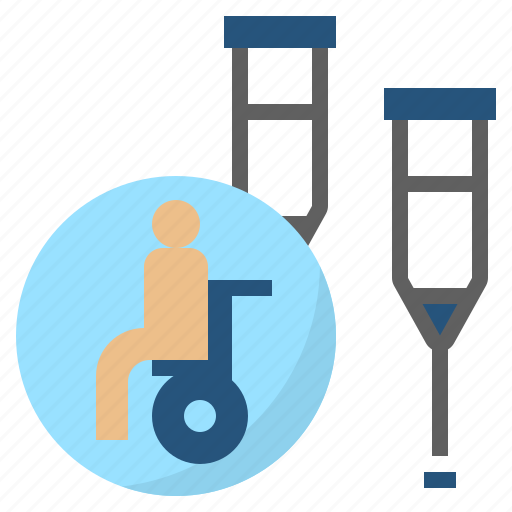 Defective, disable, handicapped, impairment, paralyzed icon - Download on Iconfinder