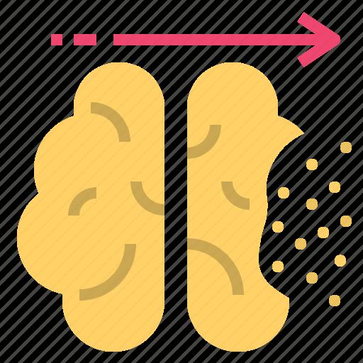 Alzheimer, dementia, loss, memory, neurodegenerative icon - Download on Iconfinder