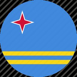aruba, flag icon