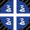 flag, martinique