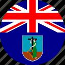 flag, montserrat icon
