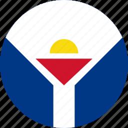 flag, martin, saint martin icon