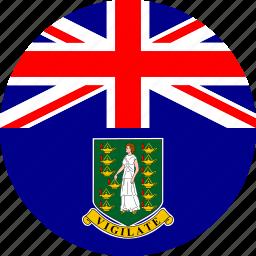 british virgin, flag, virgin icon