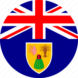 flag, turks and caicos icon