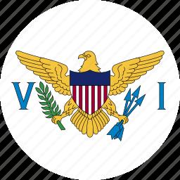 flag, virgin icon
