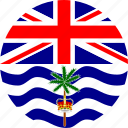 british indian ocean territory, flag icon