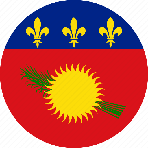 flag, guadeloupe icon
