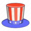 american, cap, hat, usa icon