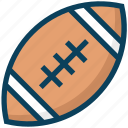 american football, ball, football, game, rugby, sports
