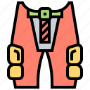 gear, hip, knee, pads, protection icon