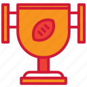 american, cup, football, trophy, winner icon