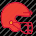 football, helmet, american