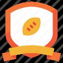 emblem, football, sport, american, badge