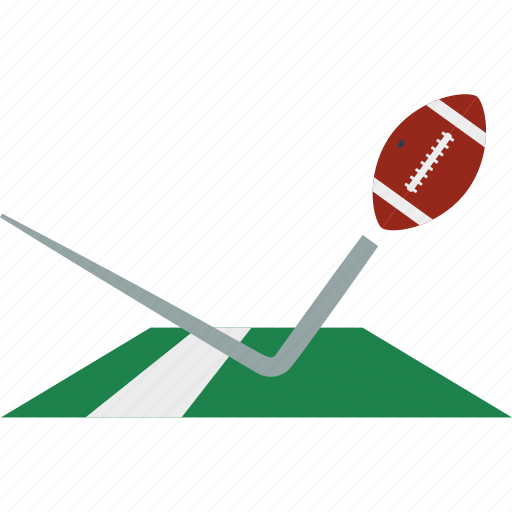 american, design, field, flat, football, sport, touchdown icon
