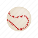 ball, baseball, equipment, game, isometric, play, sport icon