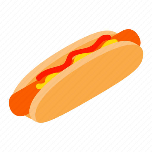 bread, bun, dog, food, hot, meat, sausage icon
