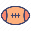 american, football, rugby, ball, sport
