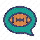 american, football, rugby, chat, talk, chatting