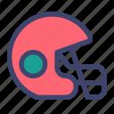 american, football, rugby, helmet, gridiron, quarterback
