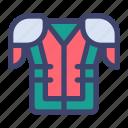 american, football, rugby, jersey, uniform, shirt